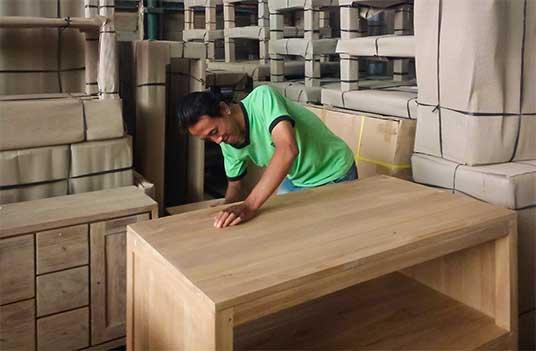atelier meubles teck