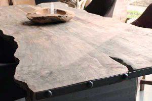 quel entretien table bois teck