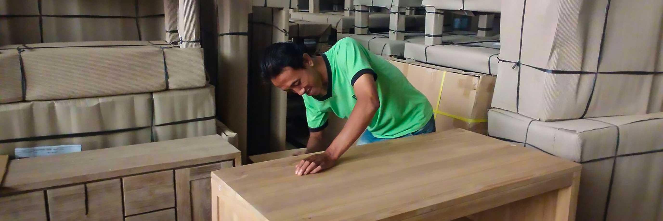 realisation meuble teck sur mesure