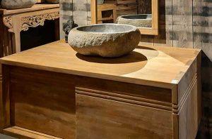 meuble salle bain suspendu