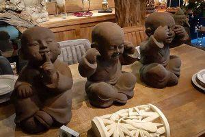 bouddhas sagesse voir entendre parler