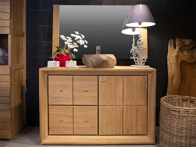 meuble sdb 4 tiroirs