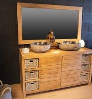 meuble salle de bain 6 tiroirs