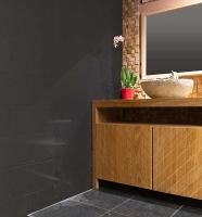 meuble teck salle bain